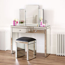 Unbranded Glass Rectangle Dressing Tables