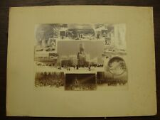 WILLIAM NOTMAN & SON ANTIQUE PHOTO COLLAGE- TORONTO CARNIVAL 1884