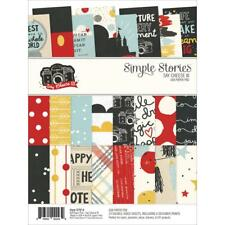 """Simple Stories Paper Pad 6""""x8"""" Say Cheese 3  Disney Inspired"""
