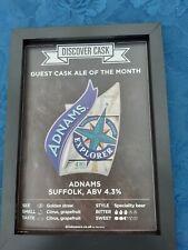 Adnams Explorer Real Ale Framed Picture