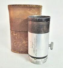 Dallmeyer Adon Brass Focussing Lens + Original Case - 34mm Screw Mount
