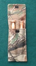 Turkey Hunting Camo Pot Call Striker Pouch/Holder Holds 2 Strikers