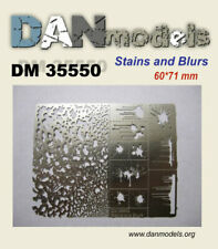 Dan Models 35550 - 1/35 Stencil Blots, Splashes, Stains 60*71 mm Scale