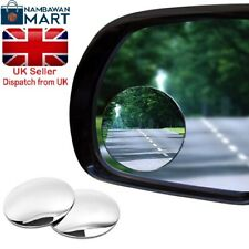 """2 x Blind Spot 2"""" Mirror with Adhesive EASY FIT Wide View Angle BN UK - AUTO1020"""