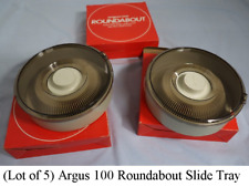 (Lot of 5) Argus 100 Roundabout Slide Tray