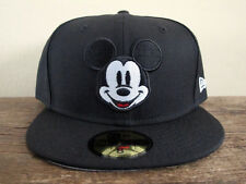 DISNEY x NEW ERA 59FIFTY Black Mickey Mouse Fitted Cap 7 7/8  hat marvel minnie