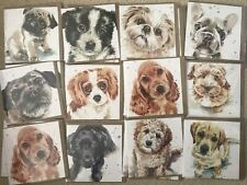 Wholesale Joblot Birthday Greetings Cards X 30 Puppy Dog Eyes Animals Cute