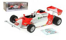 Spark S3873 Alfa Romeo 179C 4th Long Beach GP 1981 - Mario Andretti 1/43 Scale