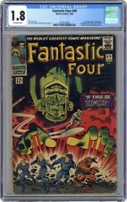 Fantastic Four 49 (1966) 1st fULL Galactus!! 2nd Silver Surfer!! - CGC 1.8 OW!