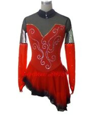 Gorgeous Figure Skating custom Ice Skating Dress Brand New K 050-1 size 14