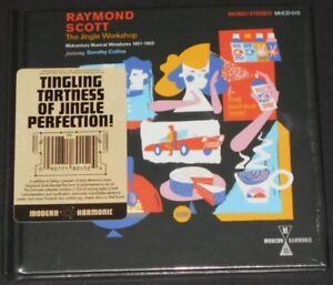 RAYMOND SCOTT the jingle workshop USA 2-CD new sealed DELUXE HARDBACK BOOK COVER