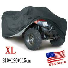 XL Black ATV Cover Heavy Duty Waterproof For Yamaha Warrior 350 YFM350 YFM350X