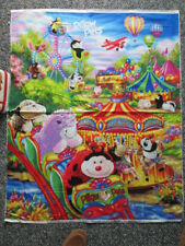 PILLOW PETS CARNIVEL RIDES COTTON FABRIC PANEL