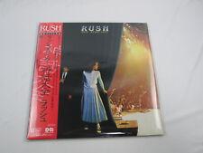 Rush- Exit...Stage Left 36 3P-325~6 with OBI Japan VINYL  LP