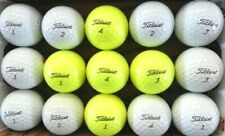 New listing 10 TITLEIST PRO V1  white  and 5 yellow  Used golf balls, AAAA, FREE SHIPPING