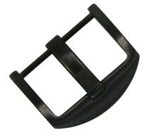 22mm Panatime PVD (Black) ARD Watch Buckle - Screw-in Attachment