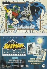 Batman Archives  P2 Promo Card BY RITTENHOUSE