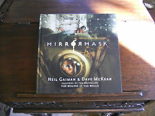 MIRRORMASK, Neil Gaiman & Dave McKean,  SIGNED 2x w/ DRAWING, 1st/1st UK 2005 HC