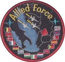 Aufnäher Patch NATO Luftwaffe SFOR KFOR Allied Force ..........A2201
