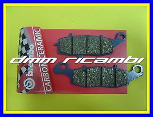 Pastiglie freno posteriori BREMBO CC KAWASAKI VN 900 CUSTOM 11>12 blù 2011 2012