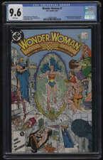 Wonder Woman #7 Vol 2 CGC 9.6 W Pgs 1st New Cheetah Barbara Ann Minerva Perez