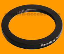 52mm to 42mm 52-42 Stepping Step Down Filter Ring Adapter 52-42mm 52mm-42mm