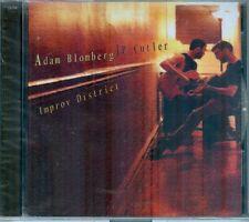 ADAM BLOMBERG / JP CUTLER  -  Improv District  -  New Sealed Blombino Cutz CD