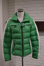 Bogner Fire and Ice Women Size 6 / EU 38 Down Green Coat Very Good Condition Ski