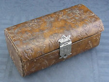 schöne alte Federtasche Stiftbox ca. um 1840