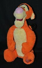 Peluche doudou tigrou DISNEY STORE original collection orange 25 cm assis TTBE