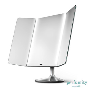 $400 SimpleHuman The Sensor Mirror Pro Wide View 1x 10x Magnification NEW
