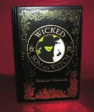 Wicked & Son of a Witch By Gregory Maguire - New Leather Bound Collectible Ed