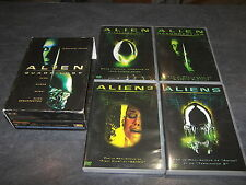 COFFRET 4 DVD ALIEN QUADRILOGY COMPLET OCCASION 20TH