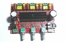1x TPA3116D2 - 2 x 50W + 100W  Placa Amplificadora de 2 Canales - 12  - 24V