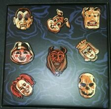 Loot Crate Fright Enamel Trick 'R Treat Pin Set Lootcrate Exclusive 8 pins