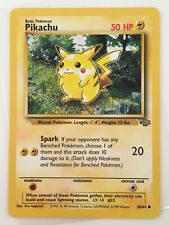 Pikachu - No. 60/64 Jungle Set Nintendo Wizards Card WotC Vtg TCG ~ Pokemon 1999