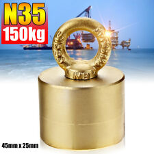 UK METAL DETECTOR NEODYMIUM RIVER SEA FISHING RECOVERY MAGNET TREASURE 150KG