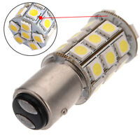 1157 Warm Light 15D P21/5W 27SMD 5050 Car LED Tail Brake Bulb Lamp White 12V