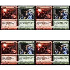 4 x ARMED // DANGEROUS NM mtg Dragon's Maze Green / Red - Sorcery Unc