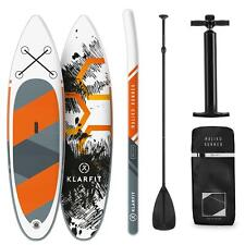 Paddle Board SUP Stand UP Surf Gonfiabile Runner Padding 305x10x77cm Arancione