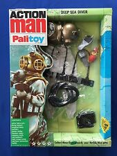 1960's Palitoy GI Joe Action Man Deep Sea Diver MISB Old Store Stock