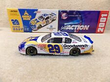 New 2001 Action 1:24 Diecast NASCAR Kevin Harvick Goodwrench AOL Monte Carlo #29