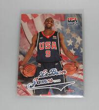 2004 FLEER USA basket LeBron James