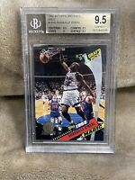 SHAQUILLE O'NEAL⚡️1992-93 Topps Archives #150 Rookie Gold BGS 9.5 GEM MINT🔥HOT