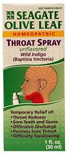 Seagate Olive Leaf Throat Spray Unflavored 1 Fl. Oz | My Natural Life