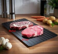 Defrosting Tray Fast Rapid No Microwave/Electricity Frozen Foods Meat Kitchen