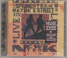 BRUCE SPRINGSTEEN & THE E STREET BAND NEW YORK CITY - 2 CD SEALED!!!