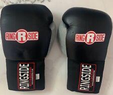 Ringside Boxing Gloves 16oz Black/Red & gray