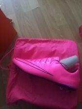 BNWT BARGAIN NIKE MERCURIAL VAPOR X FG Uk size 11 Pink Colour