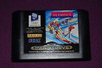 WINTER OLYMPICS LILLEHAMMER '94 - Tiertex/U.S. Gold - Jeu Sports Mega Drive PAL